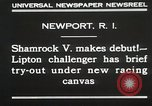 Image of Shamrock V Newport Rhode Island USA, 1930, second 7 stock footage video 65675023928