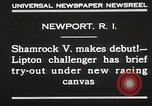Image of Shamrock V Newport Rhode Island USA, 1930, second 8 stock footage video 65675023928