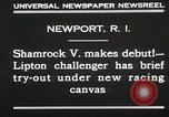 Image of Shamrock V Newport Rhode Island USA, 1930, second 9 stock footage video 65675023928