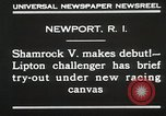 Image of Shamrock V Newport Rhode Island USA, 1930, second 10 stock footage video 65675023928