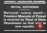 Image of President Moscicki Reval Esthonia, 1930, second 2 stock footage video 65675023929