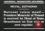 Image of President Moscicki Reval Esthonia, 1930, second 3 stock footage video 65675023929