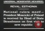 Image of President Moscicki Reval Esthonia, 1930, second 4 stock footage video 65675023929
