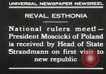 Image of President Moscicki Reval Esthonia, 1930, second 7 stock footage video 65675023929