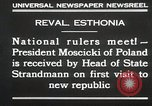 Image of President Moscicki Reval Esthonia, 1930, second 8 stock footage video 65675023929