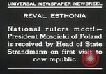 Image of President Moscicki Reval Esthonia, 1930, second 9 stock footage video 65675023929