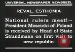 Image of President Moscicki Reval Esthonia, 1930, second 10 stock footage video 65675023929