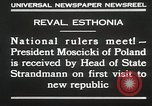 Image of President Moscicki Reval Esthonia, 1930, second 11 stock footage video 65675023929