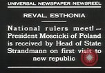 Image of President Moscicki Reval Esthonia, 1930, second 12 stock footage video 65675023929
