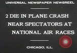 Image of Plane crash Chicago Illinois USA, 1930, second 3 stock footage video 65675023931