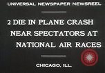 Image of Plane crash Chicago Illinois USA, 1930, second 4 stock footage video 65675023931