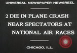 Image of Plane crash Chicago Illinois USA, 1930, second 6 stock footage video 65675023931