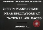 Image of Plane crash Chicago Illinois USA, 1930, second 7 stock footage video 65675023931