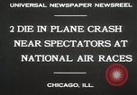 Image of Plane crash Chicago Illinois USA, 1930, second 8 stock footage video 65675023931