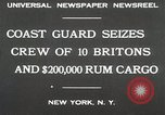Image of United States Revenue Cutter New York United States USA, 1930, second 2 stock footage video 65675023932