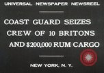 Image of United States Revenue Cutter New York United States USA, 1930, second 3 stock footage video 65675023932