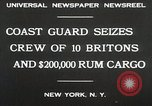 Image of United States Revenue Cutter New York United States USA, 1930, second 4 stock footage video 65675023932