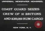 Image of United States Revenue Cutter New York United States USA, 1930, second 5 stock footage video 65675023932