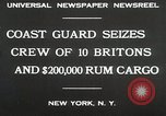 Image of United States Revenue Cutter New York United States USA, 1930, second 7 stock footage video 65675023932