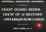 Image of United States Revenue Cutter New York United States USA, 1930, second 8 stock footage video 65675023932