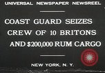 Image of United States Revenue Cutter New York United States USA, 1930, second 10 stock footage video 65675023932