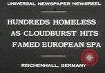 Image of Cloudburst hits Reichenhall Bavaria Germany, 1930, second 2 stock footage video 65675023933