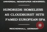 Image of Cloudburst hits Reichenhall Bavaria Germany, 1930, second 3 stock footage video 65675023933
