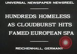 Image of Cloudburst hits Reichenhall Bavaria Germany, 1930, second 4 stock footage video 65675023933