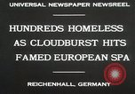 Image of Cloudburst hits Reichenhall Bavaria Germany, 1930, second 5 stock footage video 65675023933