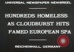 Image of Cloudburst hits Reichenhall Bavaria Germany, 1930, second 6 stock footage video 65675023933