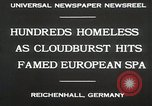 Image of Cloudburst hits Reichenhall Bavaria Germany, 1930, second 7 stock footage video 65675023933
