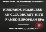 Image of Cloudburst hits Reichenhall Bavaria Germany, 1930, second 8 stock footage video 65675023933