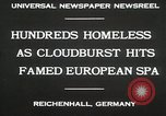 Image of Cloudburst hits Reichenhall Bavaria Germany, 1930, second 9 stock footage video 65675023933