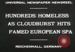 Image of Cloudburst hits Reichenhall Bavaria Germany, 1930, second 10 stock footage video 65675023933