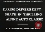 Image of Alpine Auto Classic Race Klausenpass Germany, 1930, second 1 stock footage video 65675023934