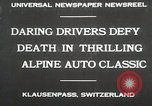 Image of Alpine Auto Classic Race Klausenpass Germany, 1930, second 2 stock footage video 65675023934