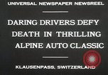 Image of Alpine Auto Classic Race Klausenpass Germany, 1930, second 5 stock footage video 65675023934
