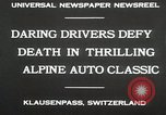 Image of Alpine Auto Classic Race Klausenpass Germany, 1930, second 9 stock footage video 65675023934