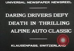Image of Alpine Auto Classic Race Klausenpass Germany, 1930, second 10 stock footage video 65675023934