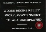 Image of Arthur Woods leading work projects during depression Washington DC USA, 1930, second 1 stock footage video 65675023935