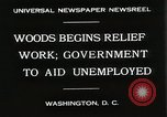 Image of Arthur Woods leading work projects during depression Washington DC USA, 1930, second 3 stock footage video 65675023935