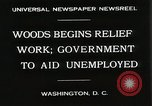 Image of Arthur Woods leading work projects during depression Washington DC USA, 1930, second 4 stock footage video 65675023935