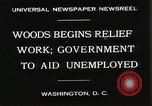 Image of Arthur Woods leading work projects during depression Washington DC USA, 1930, second 5 stock footage video 65675023935