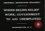 Image of Arthur Woods leading work projects during depression Washington DC USA, 1930, second 6 stock footage video 65675023935