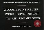 Image of Arthur Woods leading work projects during depression Washington DC USA, 1930, second 7 stock footage video 65675023935