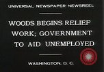 Image of Arthur Woods leading work projects during depression Washington DC USA, 1930, second 8 stock footage video 65675023935