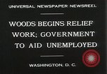 Image of Arthur Woods leading work projects during depression Washington DC USA, 1930, second 9 stock footage video 65675023935