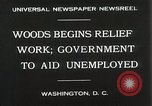 Image of Arthur Woods leading work projects during depression Washington DC USA, 1930, second 10 stock footage video 65675023935