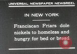 Image of Franciscan Friar New York United States USA, 1930, second 2 stock footage video 65675023936