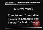 Image of Franciscan Friar New York United States USA, 1930, second 4 stock footage video 65675023936